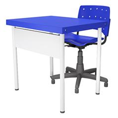 13-A Conjunto Professor com Cadeira Giratoria-238